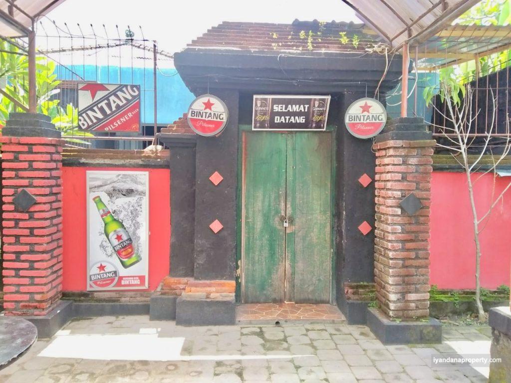 For sale tanah 3 are ID:ALR01 bonus bangunan di sanur denpasar bali near renon sesetan