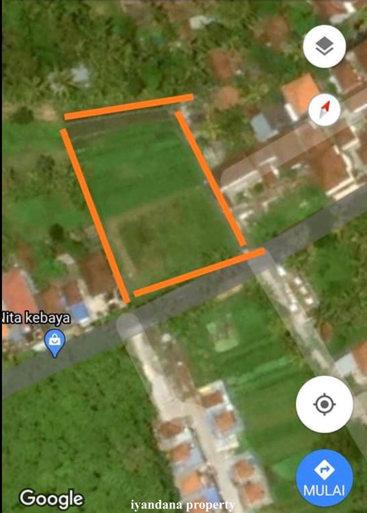 For sale jual ID:C-197 tanah 25 are kediri tabanan bali near seminyak canggu denpasar